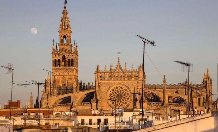 Casa con impresionantes vistas en el centro de Sevilla